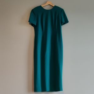 Vintage Sheath Maxi Dress